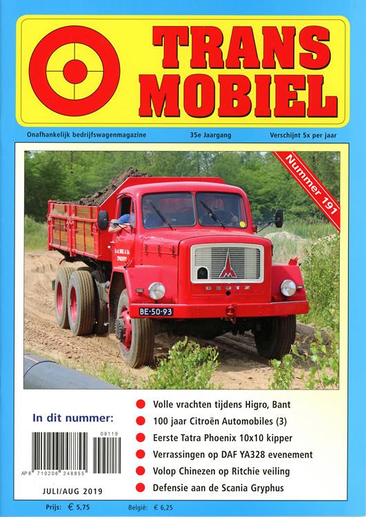 Wonderbaarlijk Transmobiel Truck & Bus Magazine - Oude nummers nabestellen HA-66